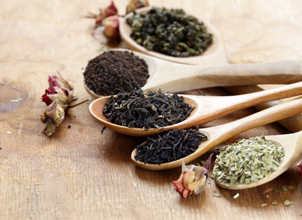 Various Types of Tea