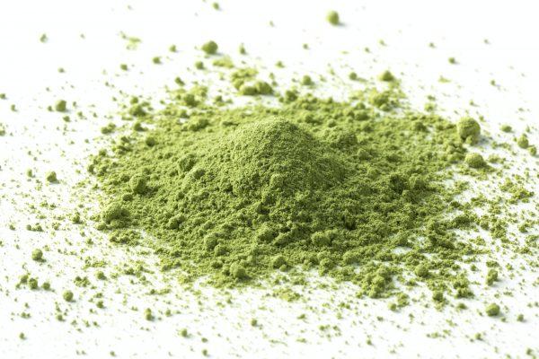 Heap of Japanese Matcha tea powder